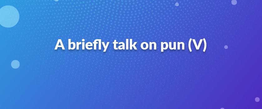 A-briefly-talk-on-pun-(V)
