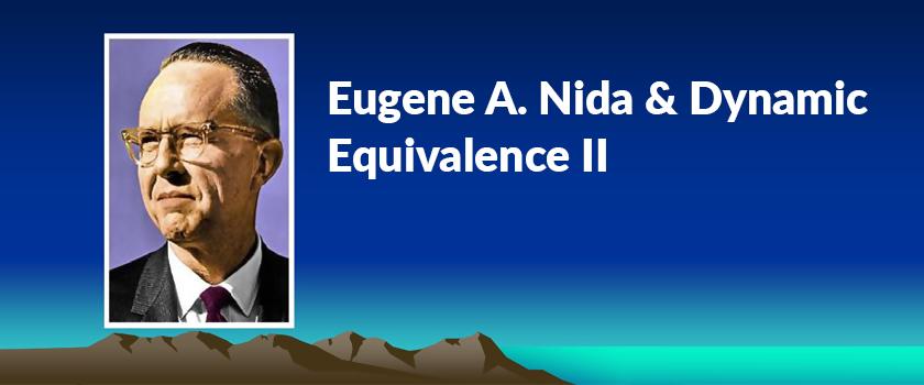Eugene-A.-Nida-&-Dynamic-Equivalence-II