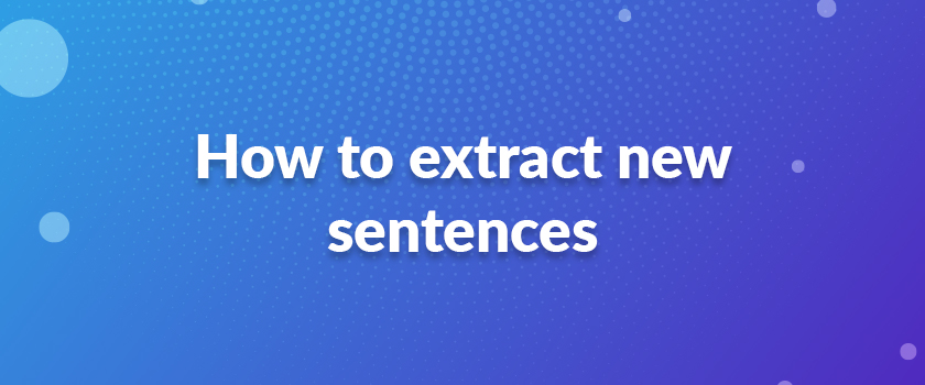 How-to-extract-new-sentences