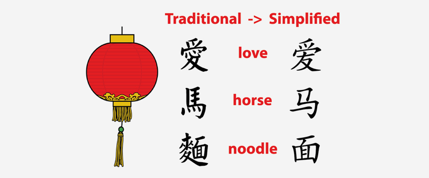 How to translate typical Chinese into Standard English