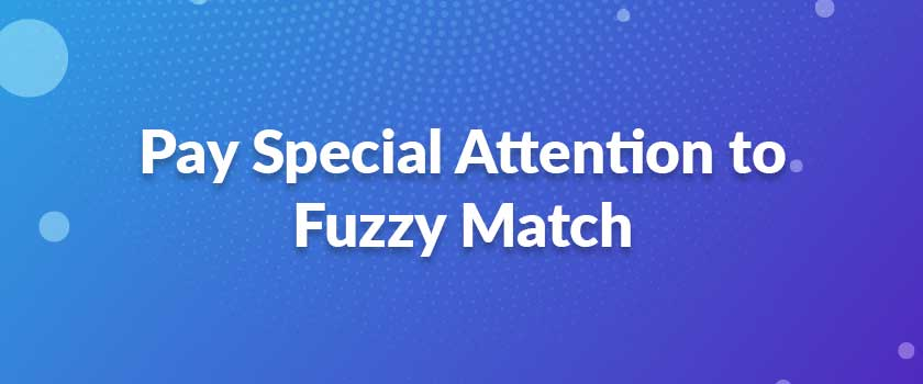 Pay-Special-Attention-to-Fuzzy-Match