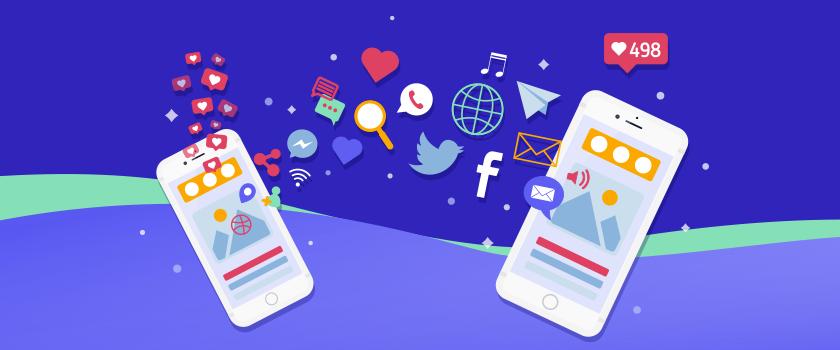 Social media translation services