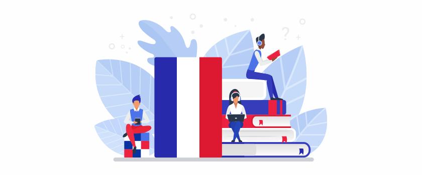 Provide Translation from English Language to French language
