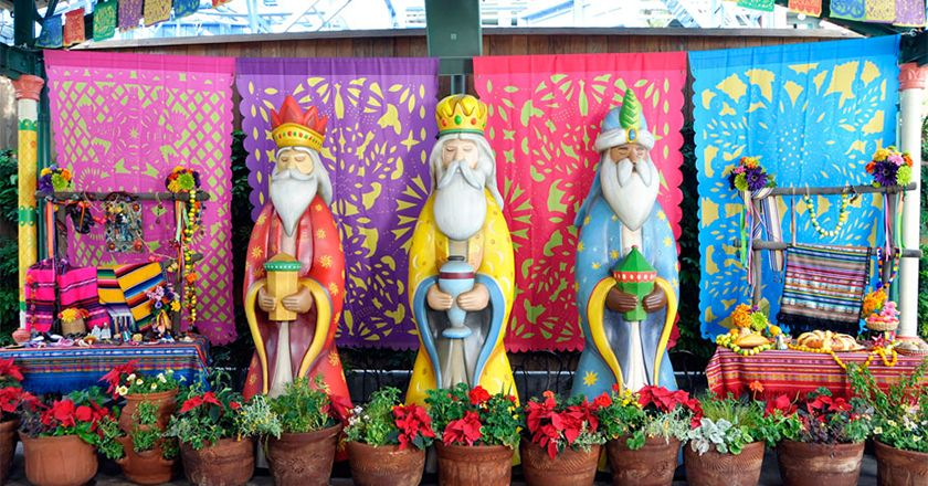 Epiphany or Three Wise Men's Day