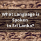 language spoken in sri lanka