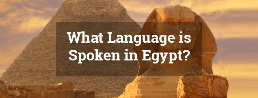 Egypt-Language