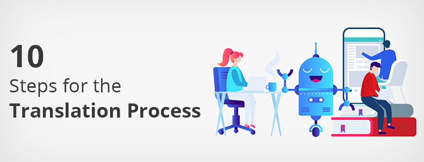 10 Steps for The Translation Process
