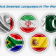 Sweetest Languages in the world