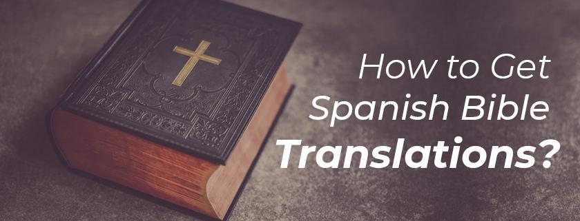 spanish bible translation services