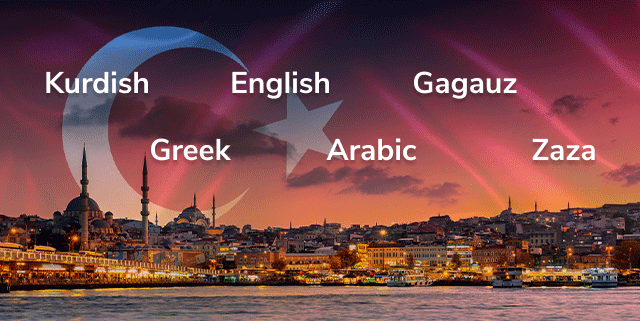 How Many Languages are Spoken in Turkey