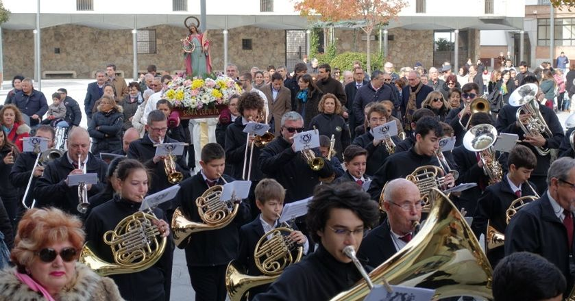 Celebration of Saint Cecilia